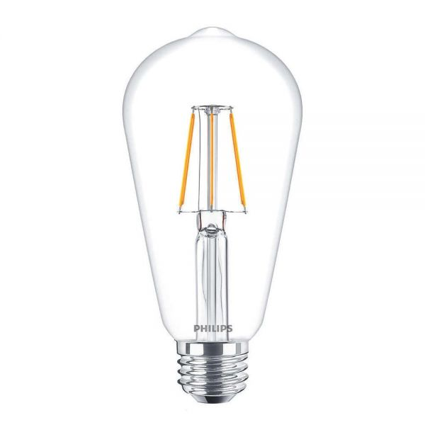 Philips Classic Bulb 4W | Ersetzt 40W