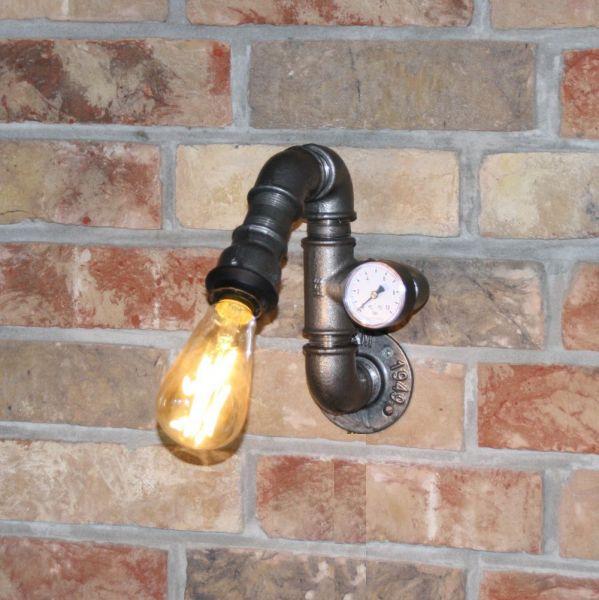 """Wandlampe """"Tulsa"""" Manometer"""