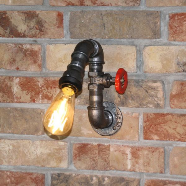 """Wandlampe """"Tulsa"""" Wasserhahn"""